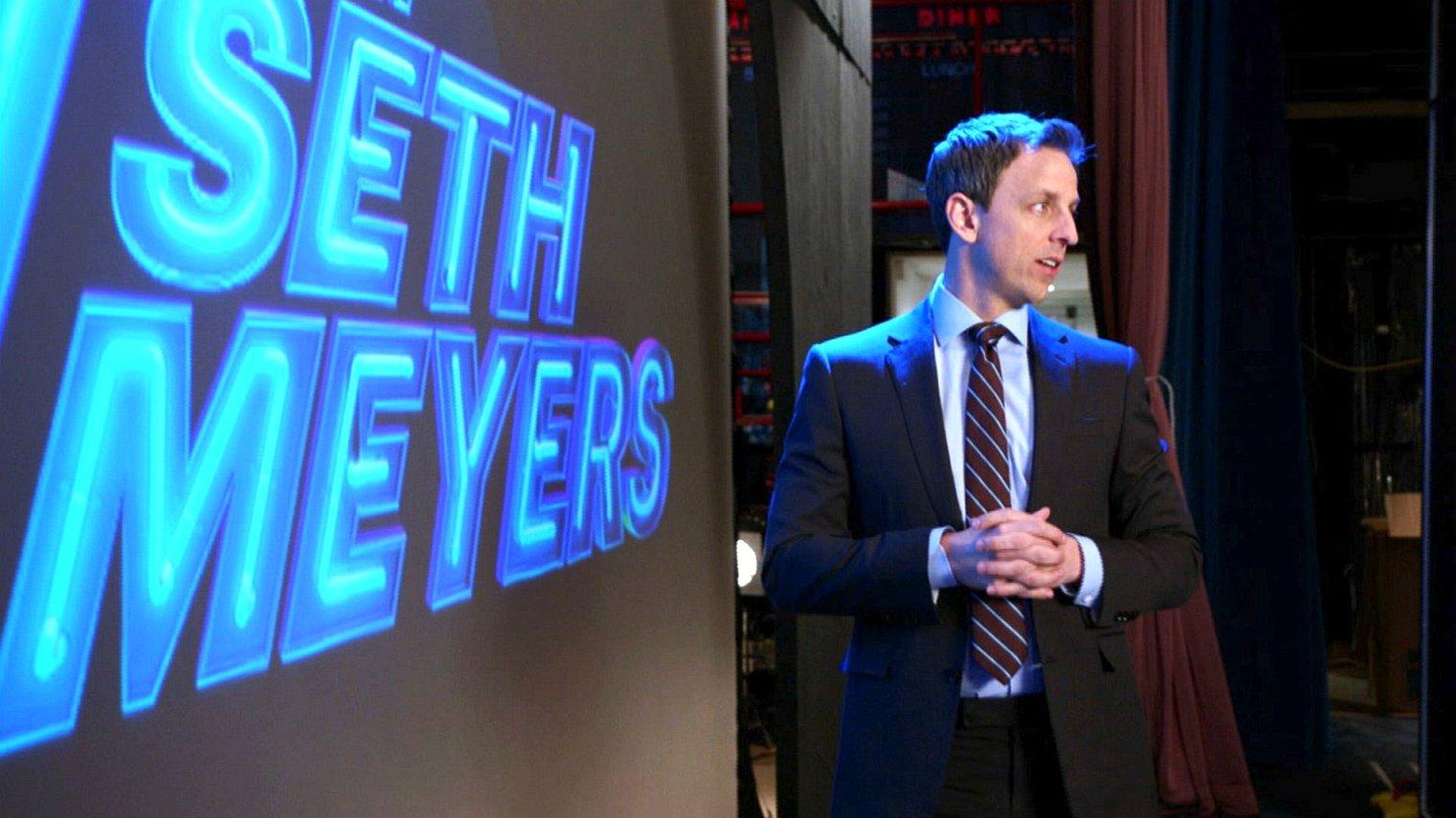 cast of Late Night with Seth Meyers season 4