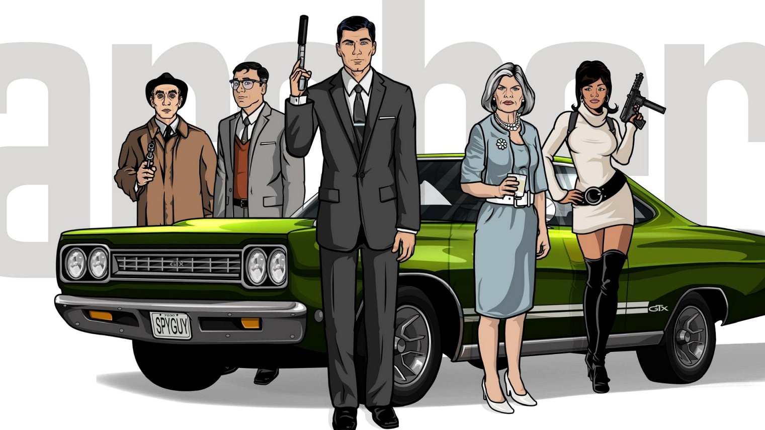 cast of Archer season 8