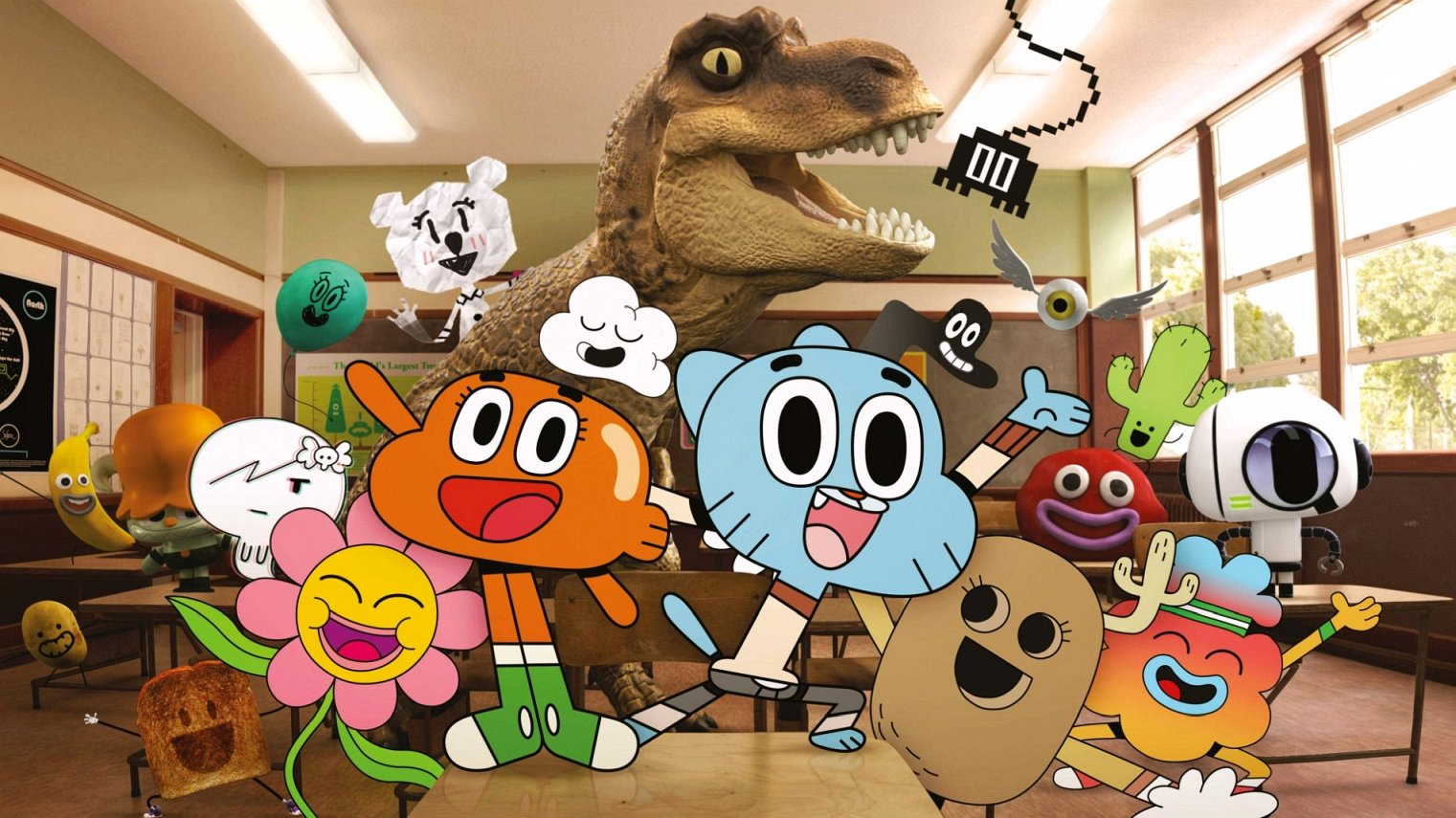 what time is The Amazing World of Gumball on