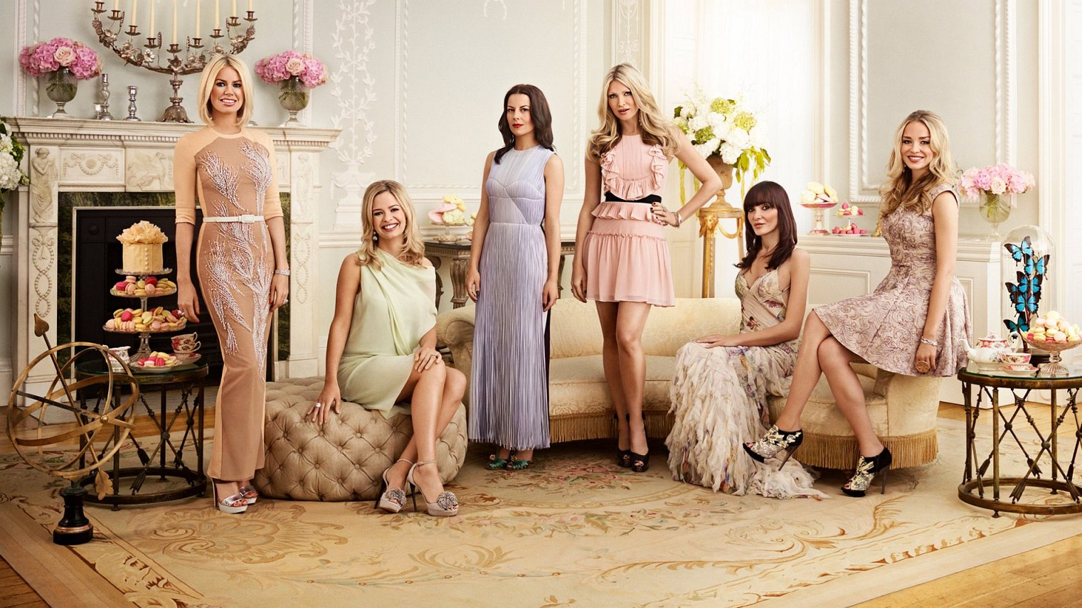 cast of Ladies of London season 3