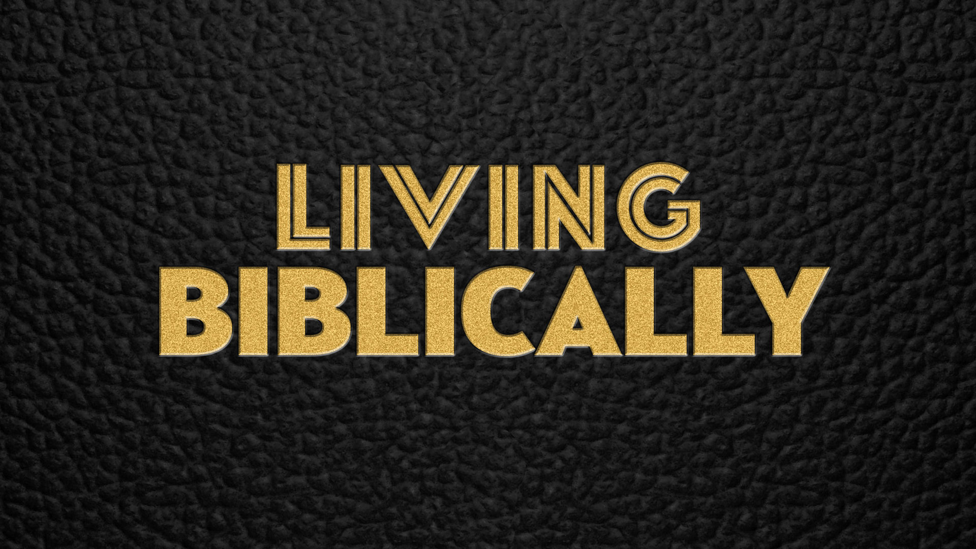 when does Living Biblically return