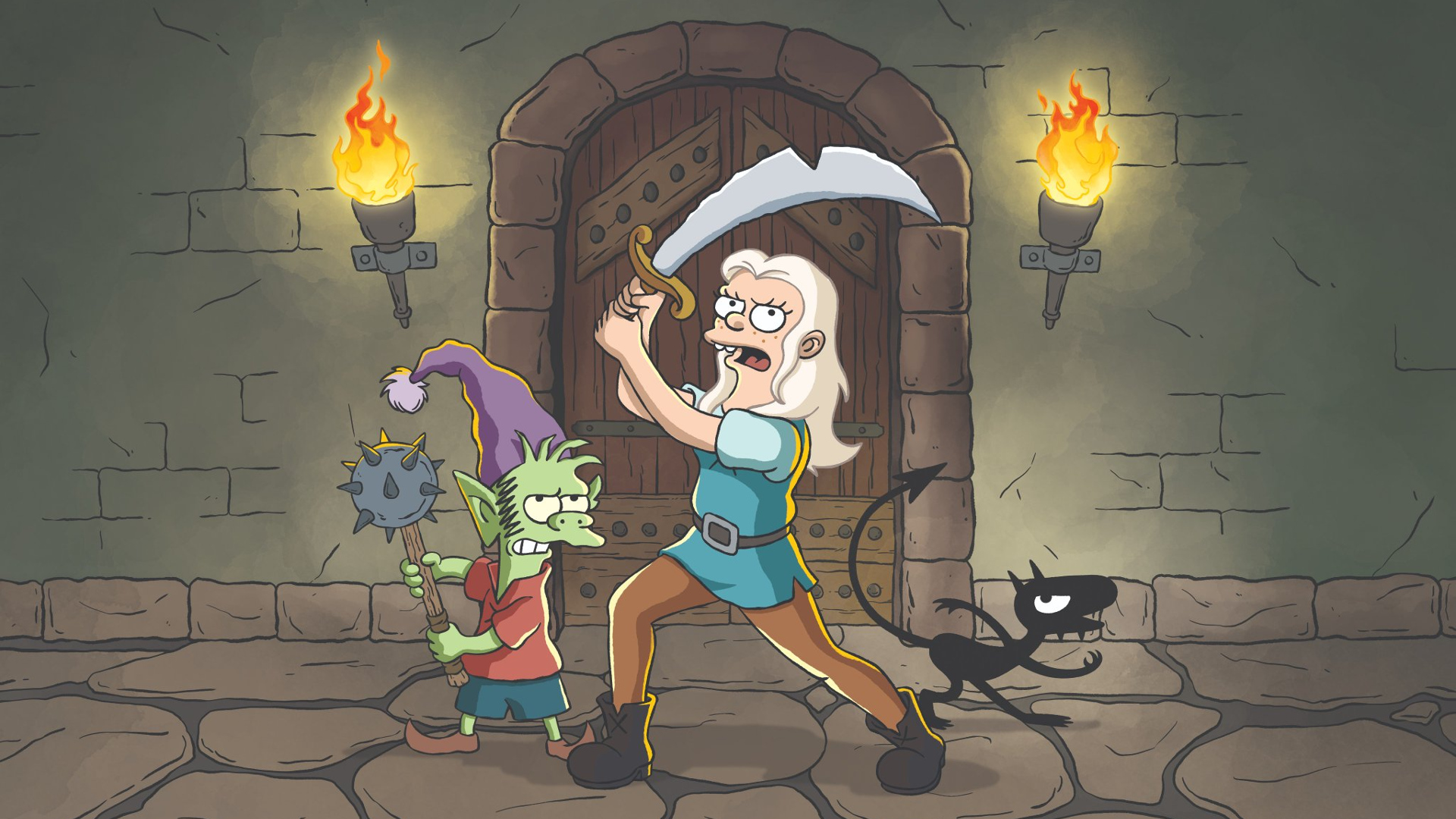 what time is Disenchantment on