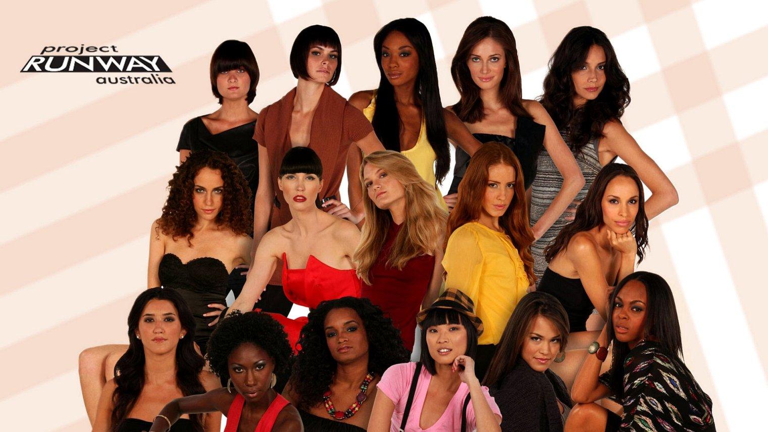 cast of Project Runway Australia season 4
