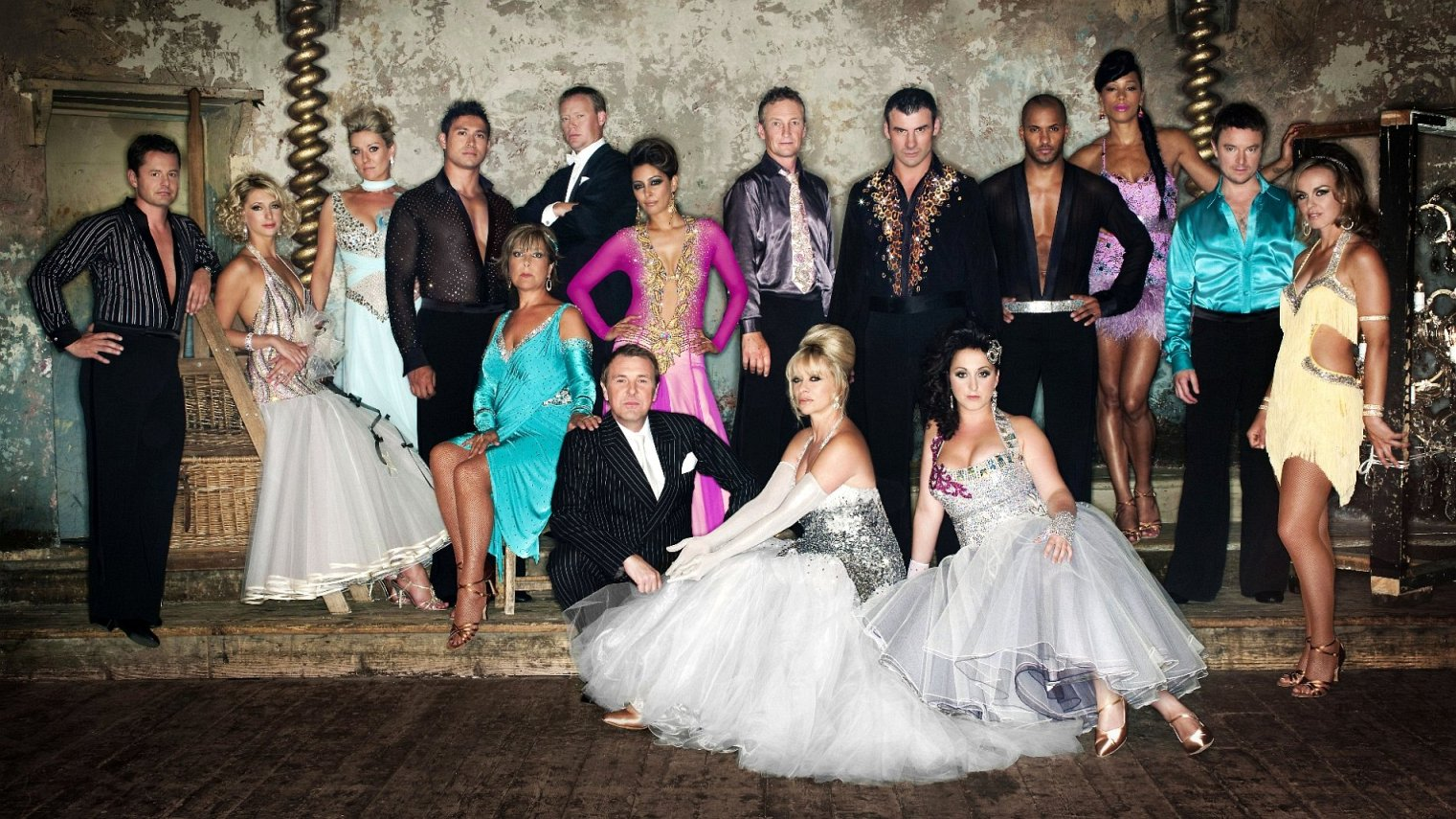cast of Strictly Come Dancing season 3