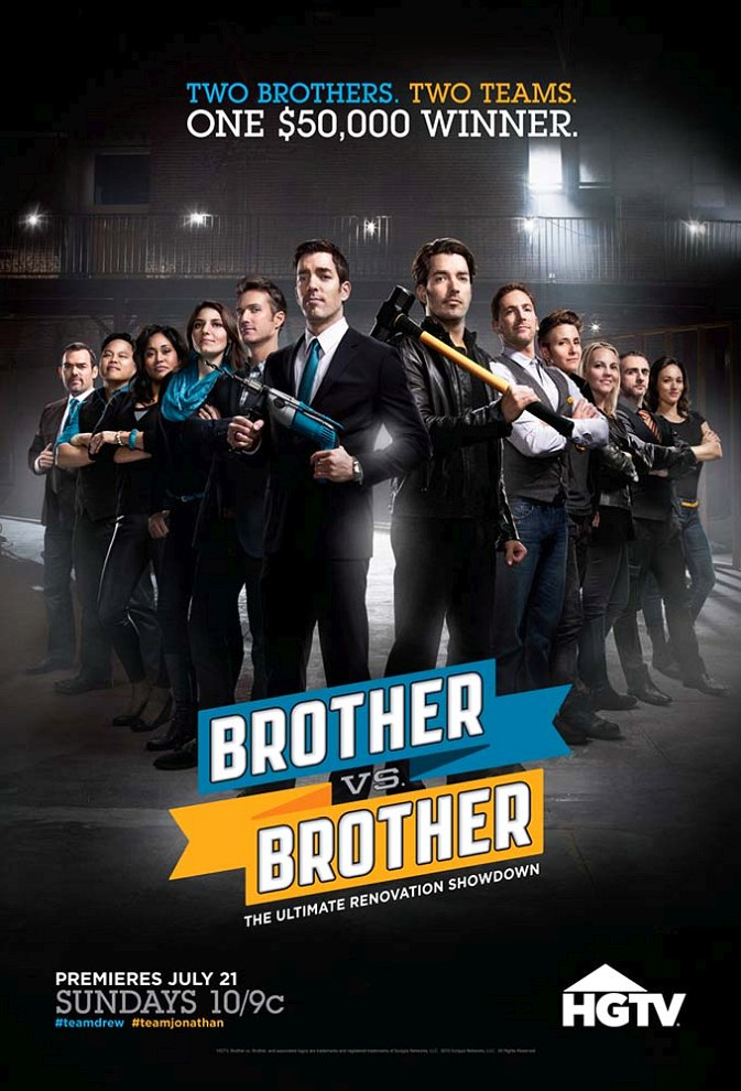 Brother vs. Brother poster