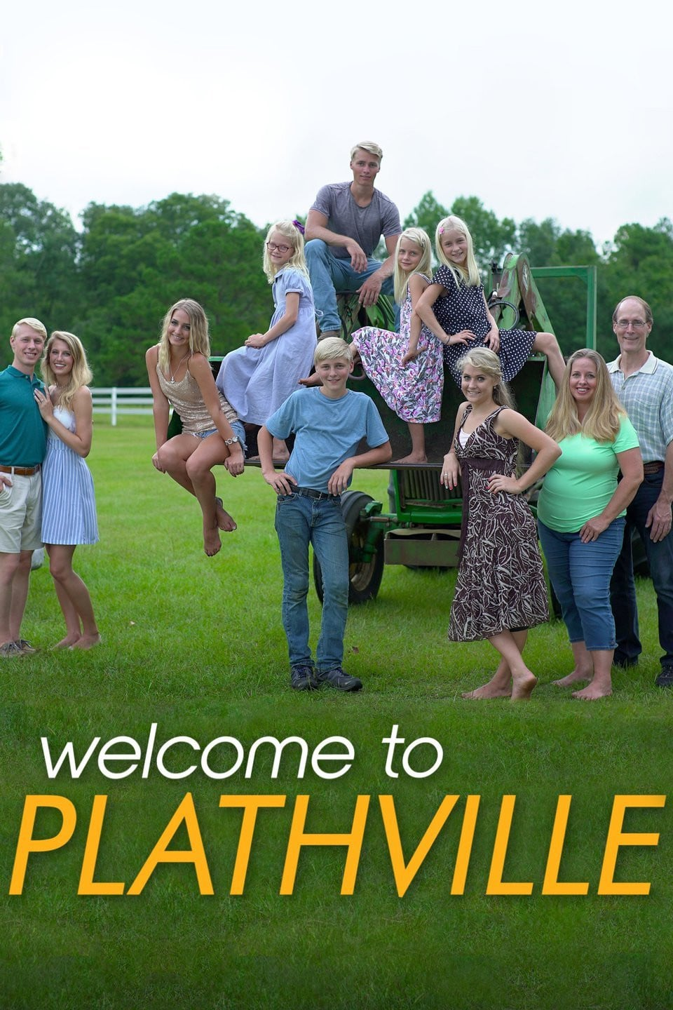 Welcome to Plathville poster