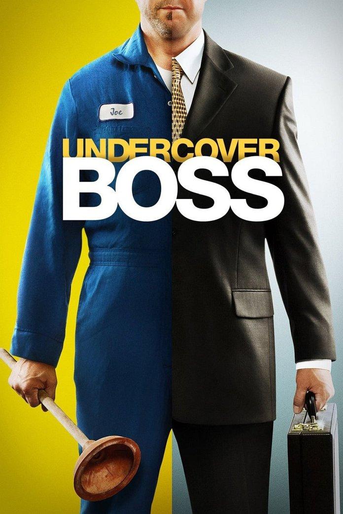 Undercover Boss poster